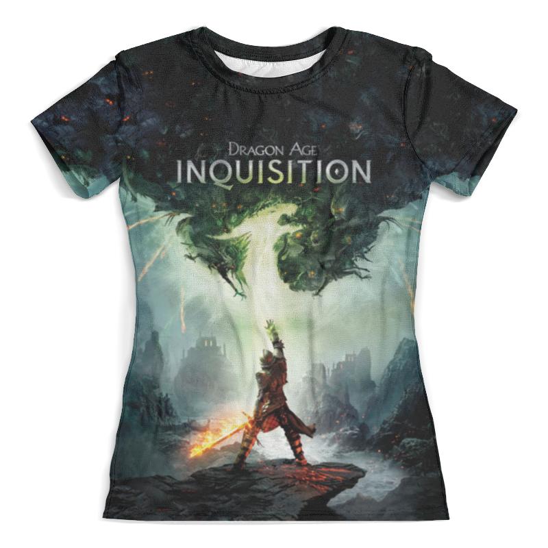 Футболка с полной запечаткой (женская) Printio Dragon age inquisition футболка с полной запечаткой для мальчиков printio dragon age inquisition