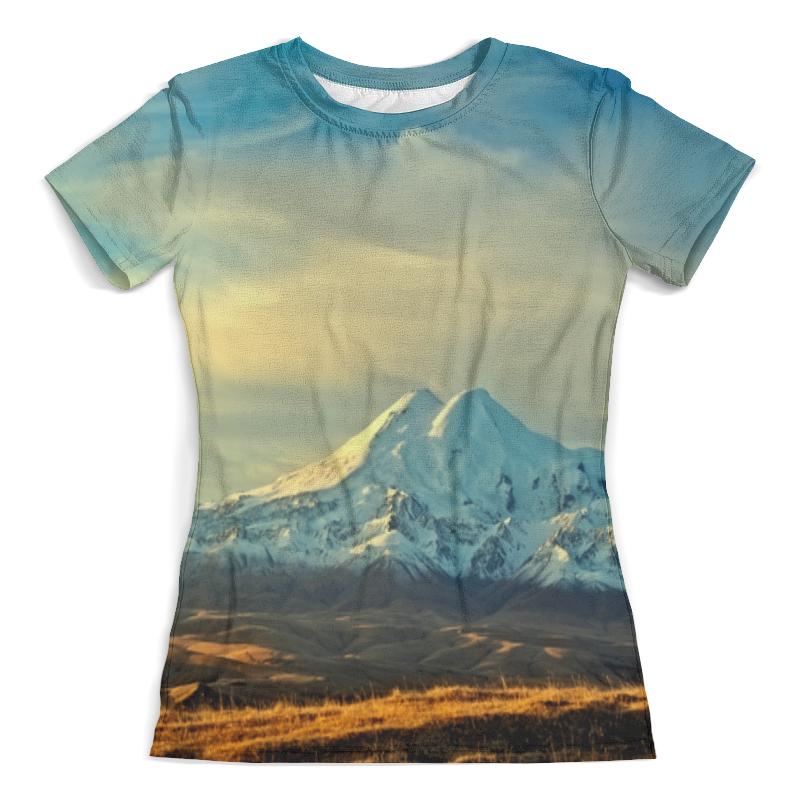 Футболка с полной запечаткой (женская) Printio Горная долина футболка с полной запечаткой мужская printio горная тропа