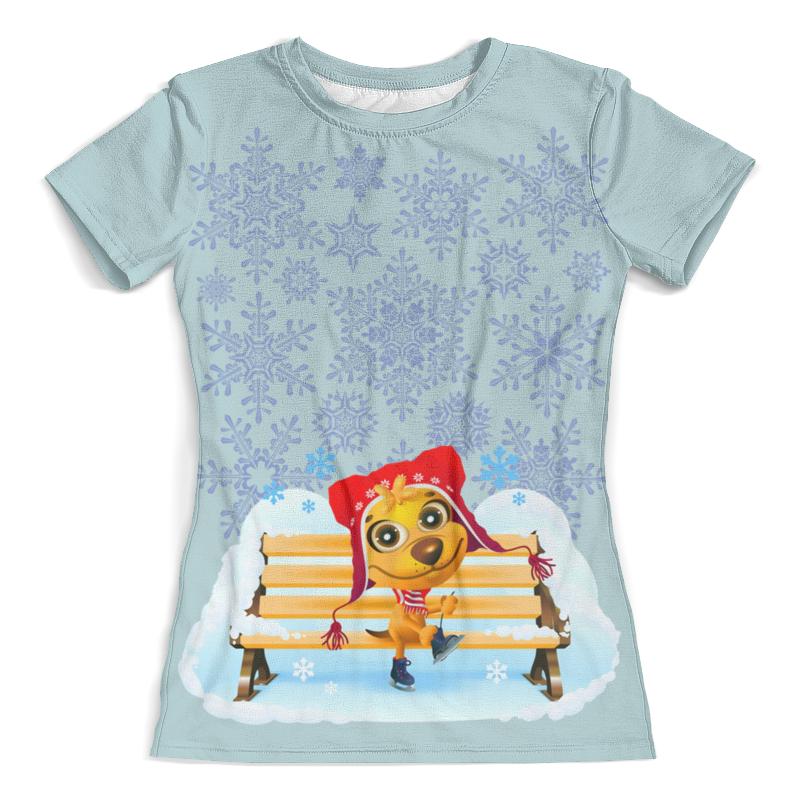 Printio Зима футболка зима