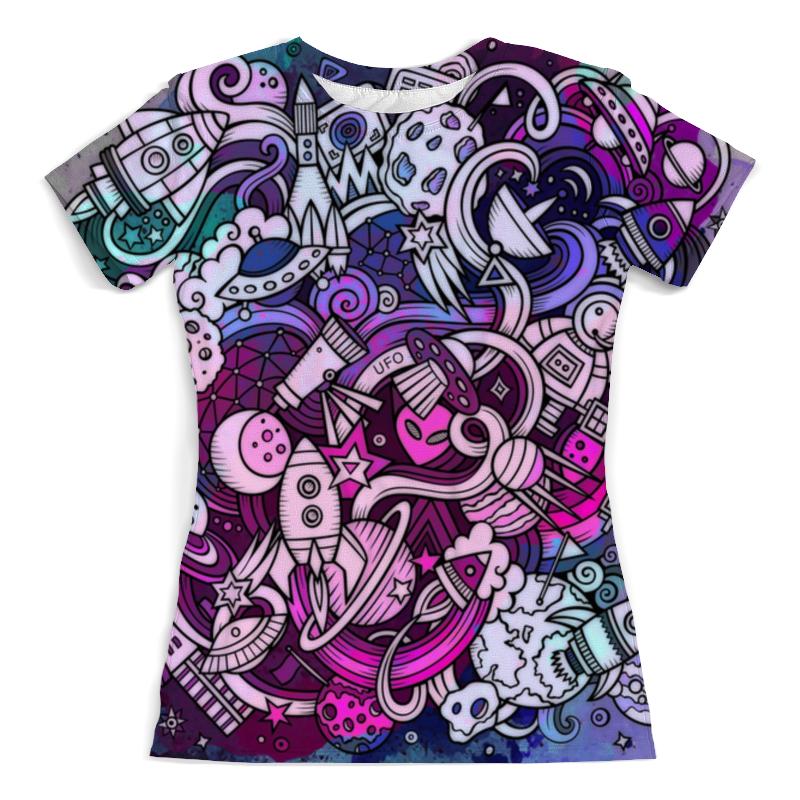 Футболка с полной запечаткой (женская) Printio Космос футболка с полной запечаткой женская printio голубой космос