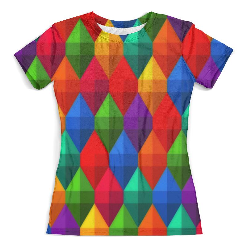 Футболка с полной запечаткой (женская) Printio Eternal object футболка для беременных printio object