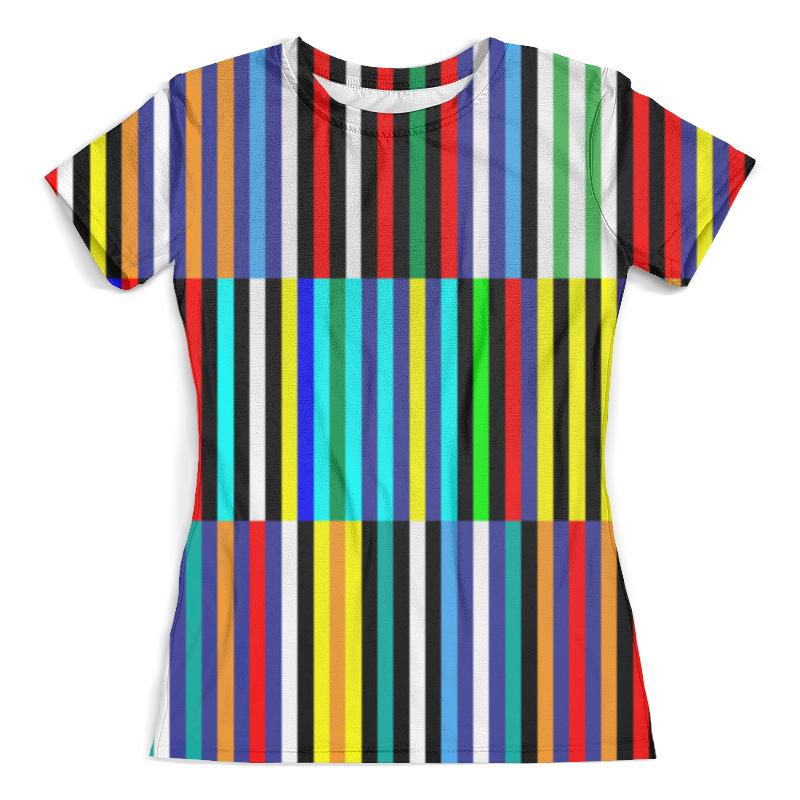 Футболка с полной запечаткой (женская) Printio Color футболка с полной запечаткой женская printio баба яга