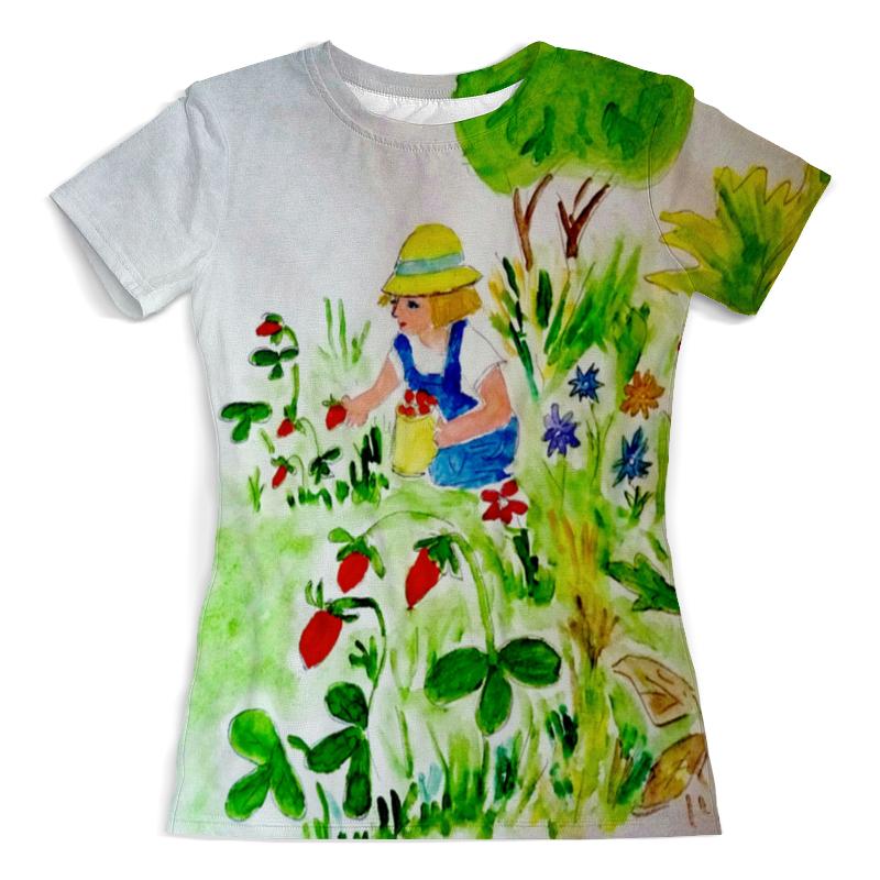 Printio Футболка земляничная поляна футболка с полной запечаткой женская printio мальчик с девочкой