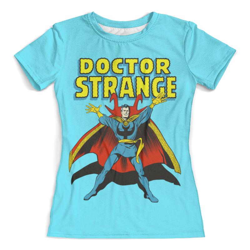 Футболка с полной запечаткой (женская) Printio Доктор стрэндж футболка с полной запечаткой для девочек printio доктор стрэндж