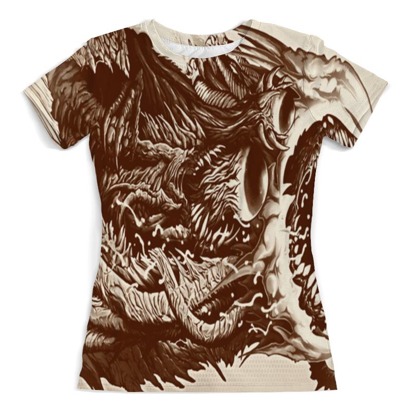 Футболка с полной запечаткой (женская) Printio Cs go :hyper beast retro футболка с полной запечаткой мужская printio cs go hyper beast black