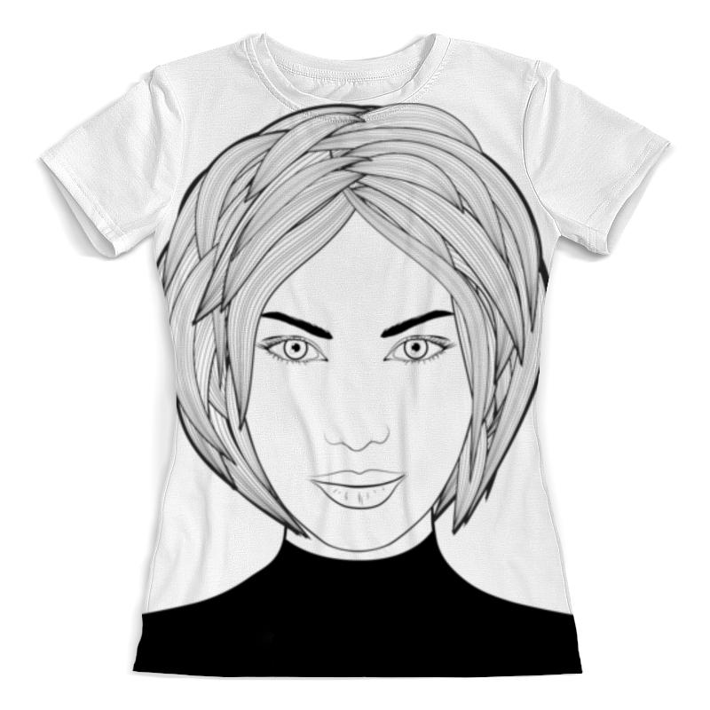 Printio Fashion girl in sketch-style sketch