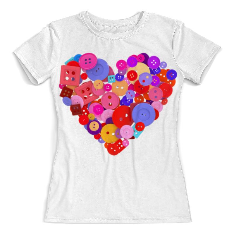 Printio День всех влюбленных футболка с полной запечаткой женская printio тоня против всех