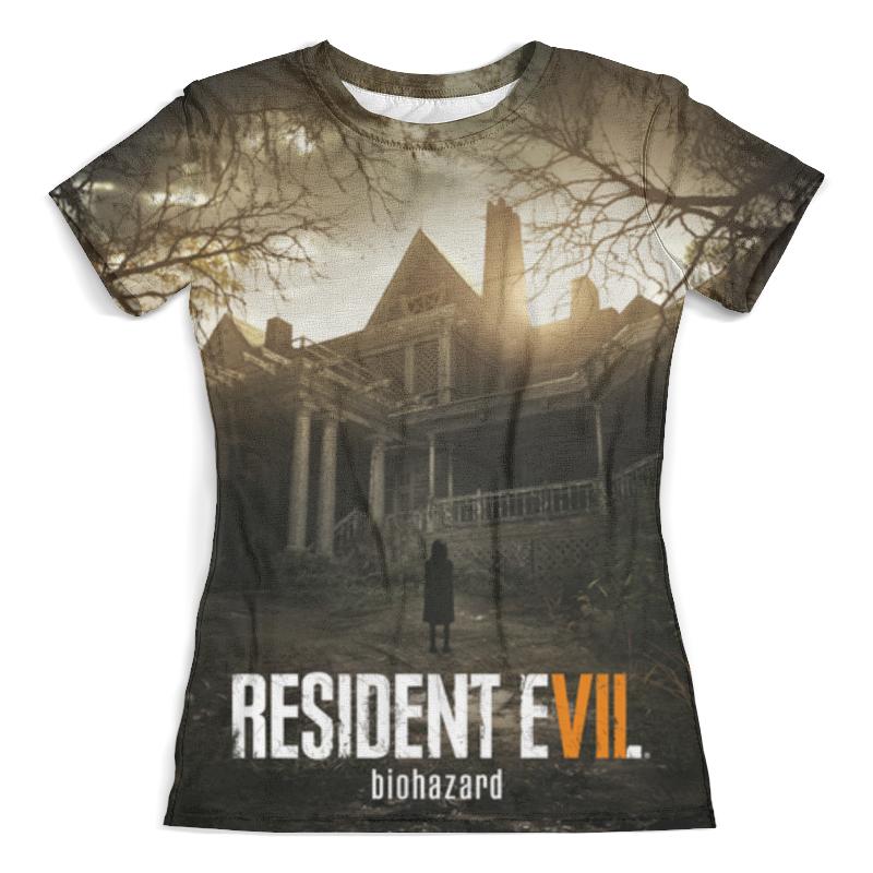 Футболка с полной запечаткой (женская) Printio Resident evil 7 видеоигра для pc resident evil 7 biohazard