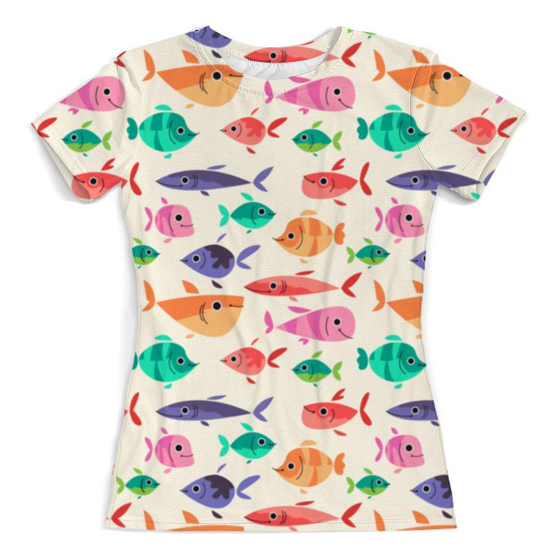 Printio Рыбки футболка с полной запечаткой женская printio кораловые рыбки