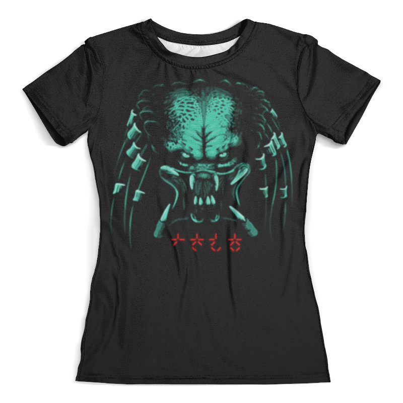 Футболка с полной запечаткой (женская) Printio Хищник футболка с полной запечаткой женская printio predator хищник женская