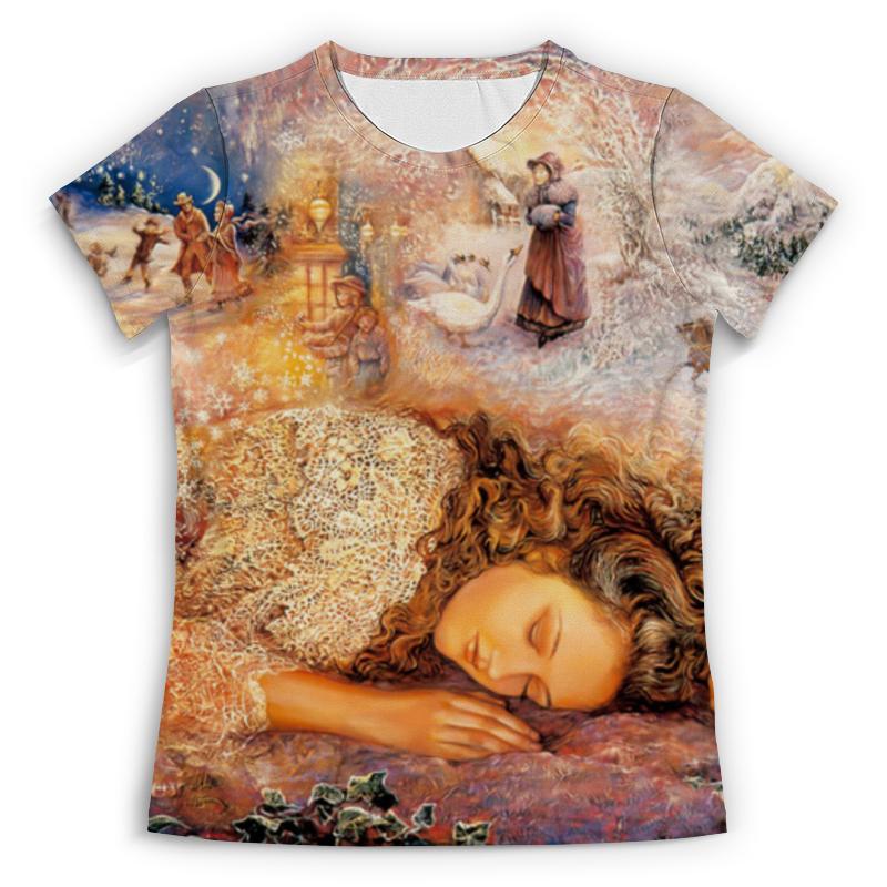 Футболка с полной запечаткой (женская) Printio Волшебный сон футболка с полной запечаткой женская printio pattern