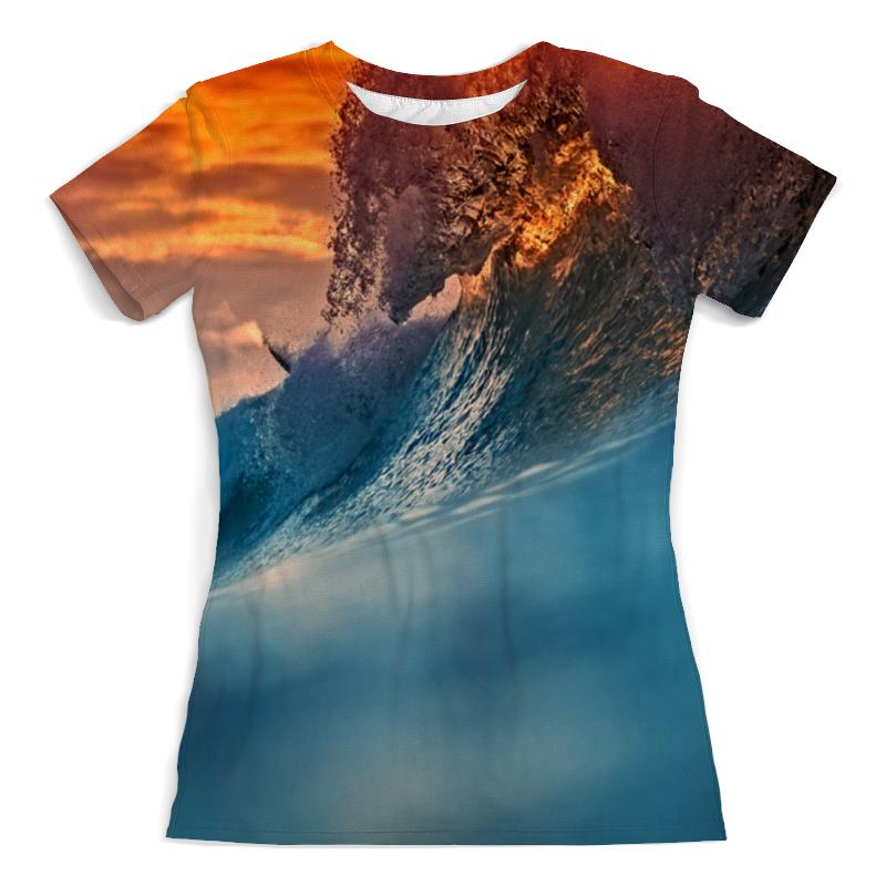 Printio Всплеск волны рубашка поло с полной запечаткой printio всплеск волны