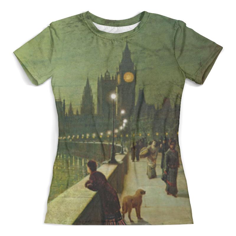 Футболка с полной запечаткой (женская) Printio Вечерний лондон футболка с полной запечаткой для девочек printio вечерний лондон
