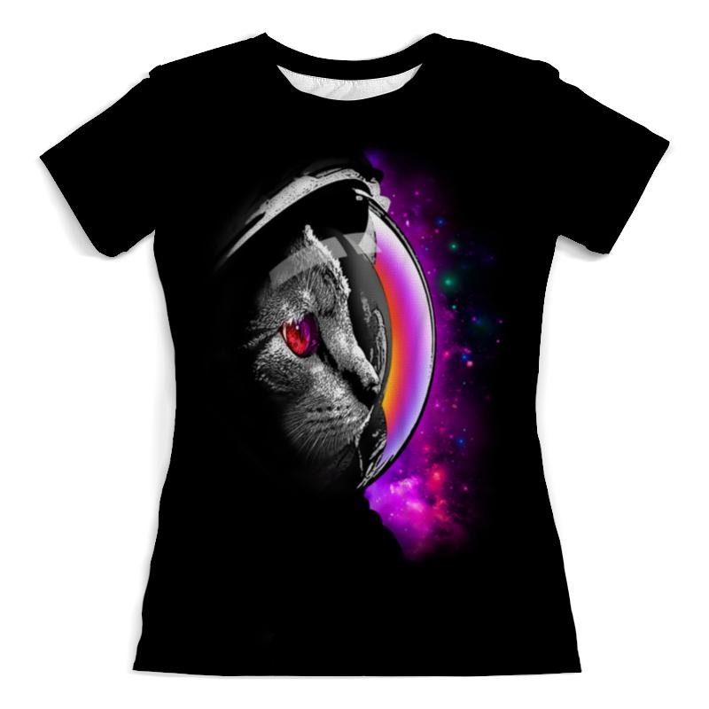 Футболка с полной запечаткой (женская) Printio Infinity cat футболка с полной запечаткой женская printio cat in the dark