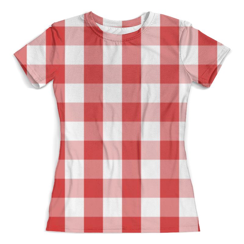 Футболка с полной запечаткой (женская) Printio Клетка футболка с полной запечаткой женская printio battlefield v