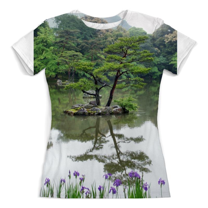 Фото - Футболка с полной запечаткой (женская) Printio Японский сад футболка с полной запечаткой женская printio в толще воды