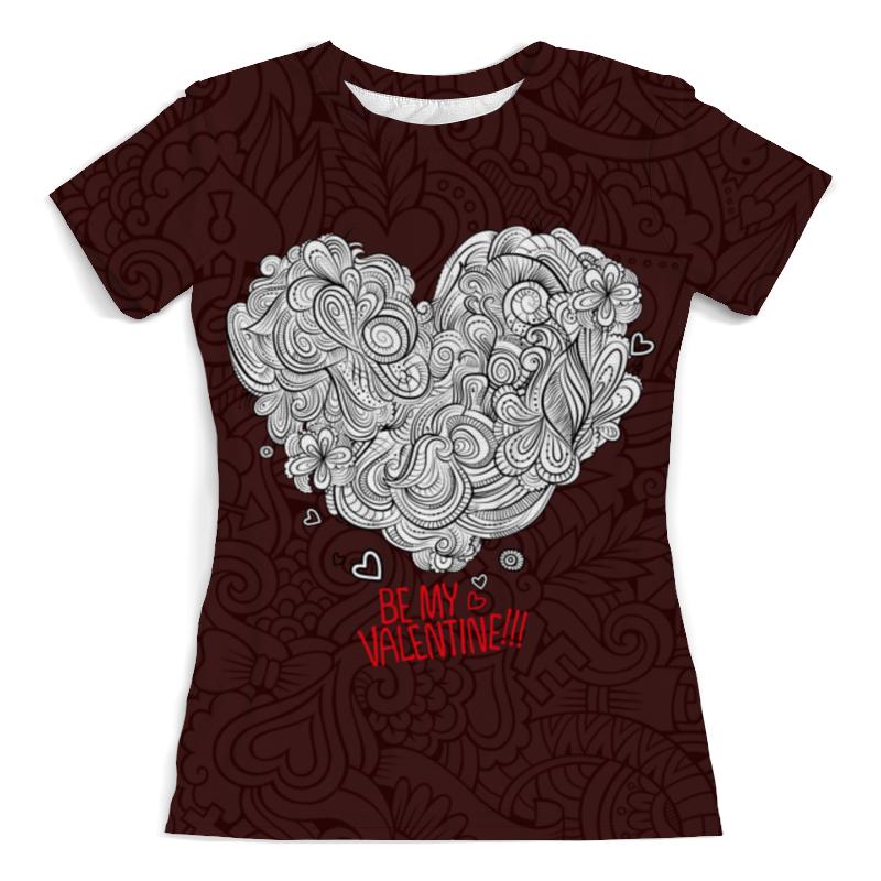 Printio Valentine's day футболка с полной запечаткой женская printio тоня против всех