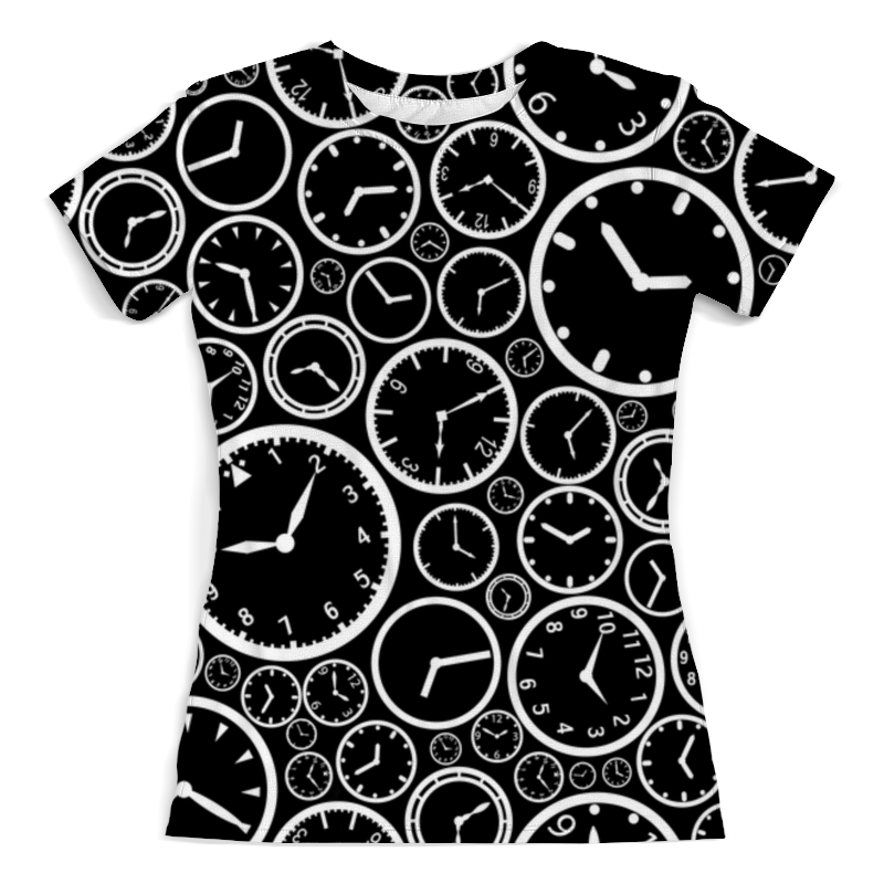 Printio Время футболка с полной запечаткой женская printio время чая