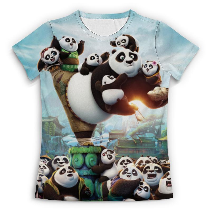 Футболка с полной запечаткой Printio Кунг-фу панда unice кунг фу панда