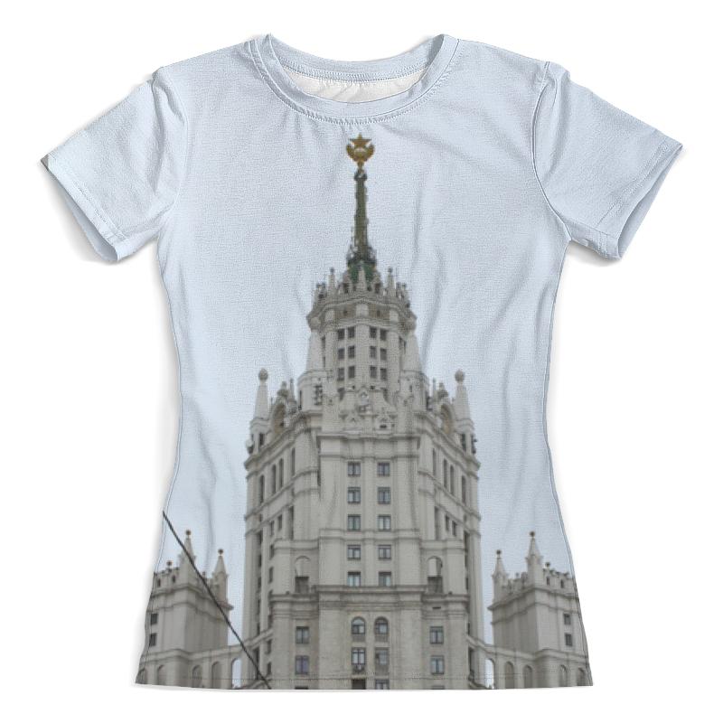Printio Москва футболка с полной запечаткой женская printio московская область москва