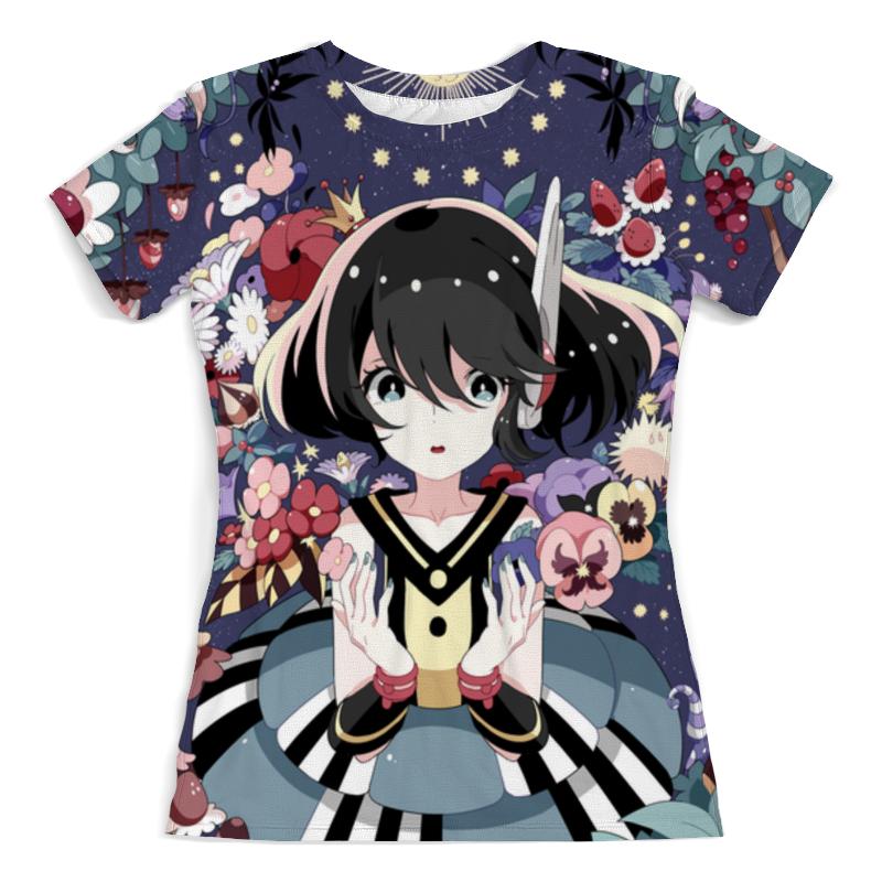 Футболка с полной запечаткой (женская) Printio Аниме девушка футболка с полной запечаткой printio аниме девушка