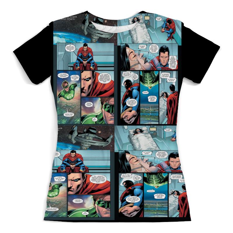 Printio Комиксы. футболка с полной запечаткой для девочек printio комиксы