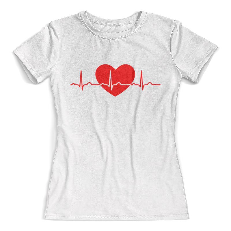 Футболка с полной запечаткой (женская) Printio Сердце футболка с полной запечаткой женская printio сердце