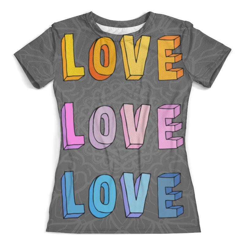 Футболка с полной запечаткой (женская) Printio It's my love-love футболка с полной запечаткой женская printio army of love