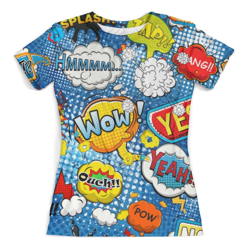 Футболка с полной запечаткой (женская) Printio Wow art футболка print bar wow