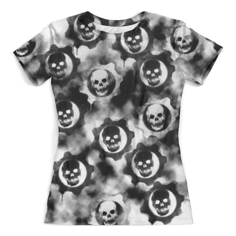 Футболка с полной запечаткой (женская) Printio Gears of war футболка с полной запечаткой мужская printio gears of war