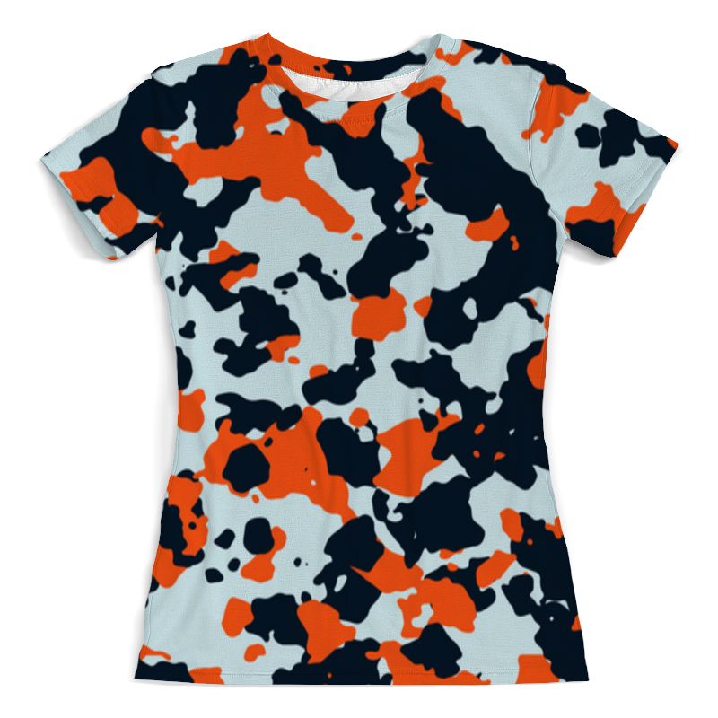 Футболка с полной запечаткой (женская) Printio Cs go: asiimov camouflage майка борцовка print bar cs go asiimov cky