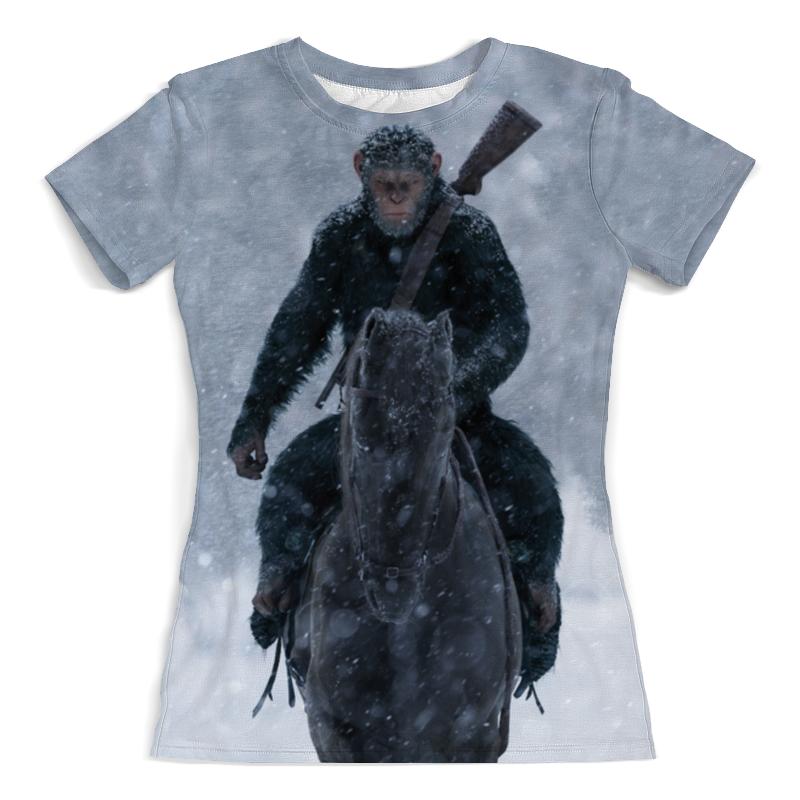 Printio Планета обезьян футболка с полной запечаткой для девочек printio 12 обезьян