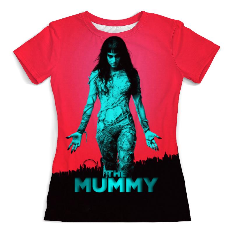 Футболка с полной запечаткой (женская) Printio The mummy mummy