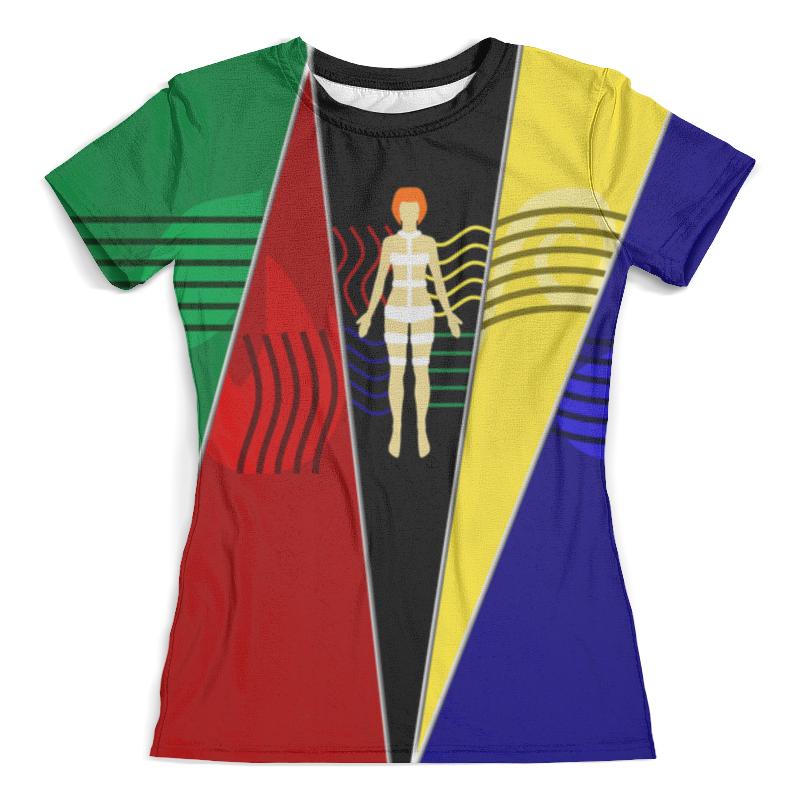 Футболка с полной запечаткой (женская) Printio Fifth element футболка женская element which way white