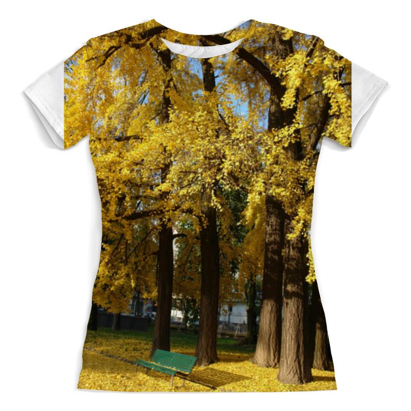 Фото - Футболка с полной запечаткой (женская) Printio Осень футболка с полной запечаткой женская printio в толще воды