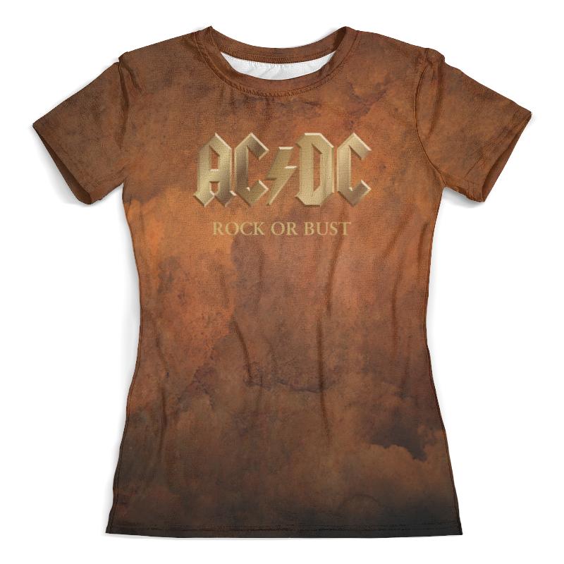 Футболка с полной запечаткой (женская) Printio Ac/dc футболка print bar ac dc rock or bust