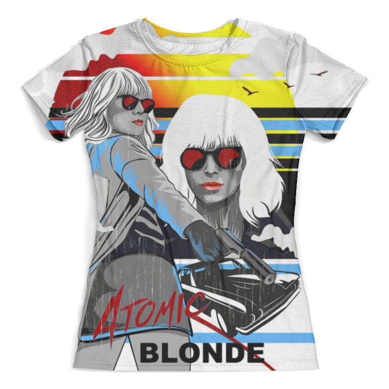Футболка с полной запечаткой (женская) Printio Atomic blonde