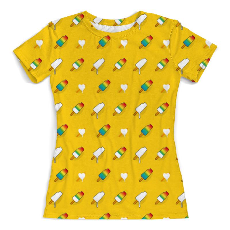 Printio Поп арт дизайн. мороженое паттерн футболка с полной запечаткой мужская printio яркий красивый модный гелакси дизайн паттерн