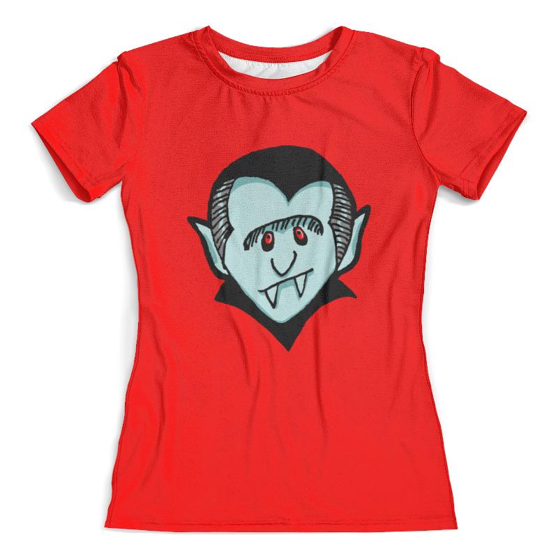 Футболка с полной запечаткой (женская) Printio Дракула футболка с полной запечаткой мужская printio дракула