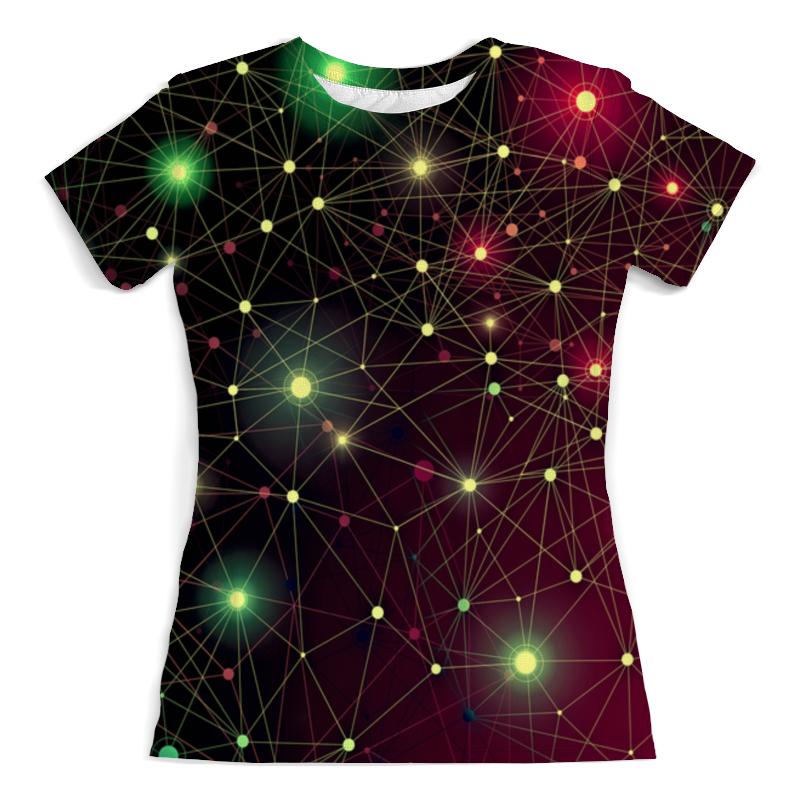 Фото - Футболка с полной запечаткой (женская) Printio Созвездие футболка с полной запечаткой женская printio созвездие рака