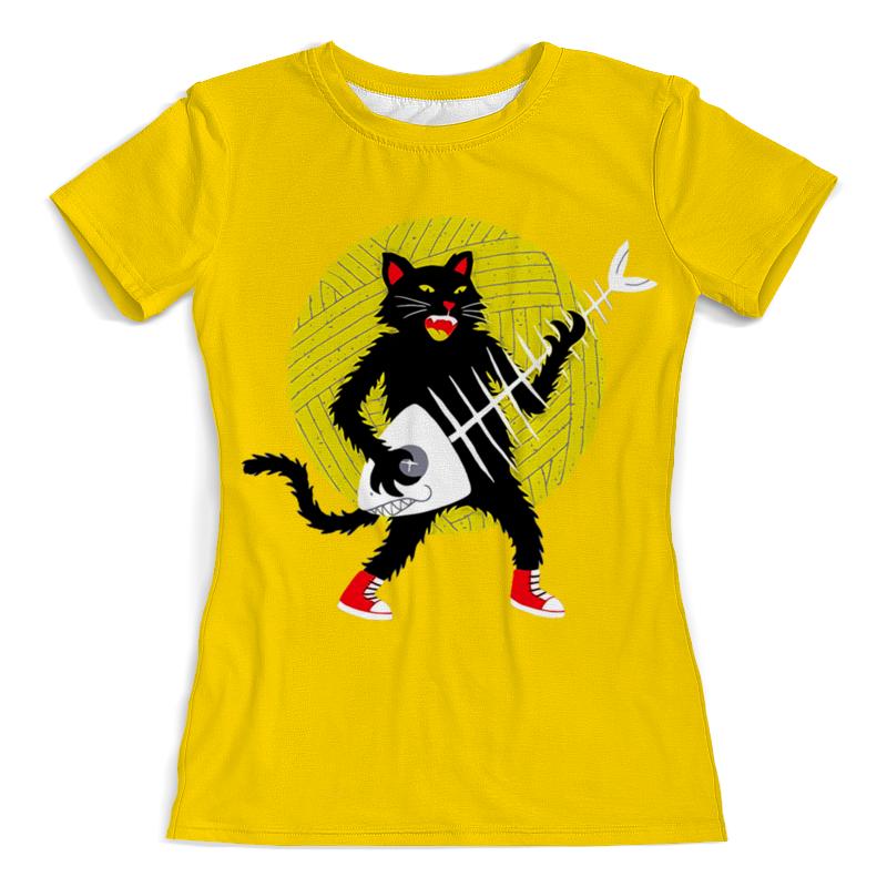 лучшая цена Printio Котик гитарист
