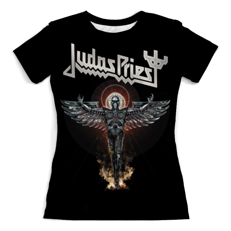Printio Judas priest футболка с полной запечаткой женская printio judas priest музыка рок группы метал