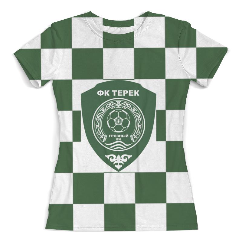 Футболка с полной запечаткой (женская) Printio Терек пфк футболка с полной запечаткой мужская printio терек пфк