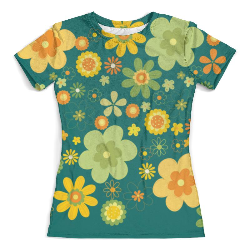 Футболка с полной запечаткой (женская) Printio Хиппи футболка с полной запечаткой женская printio хиппи енот