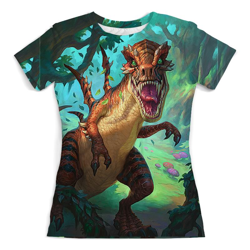 Printio Динозавры фэнтези футболка с полной запечаткой мужская printio динозавры фэнтези raptor