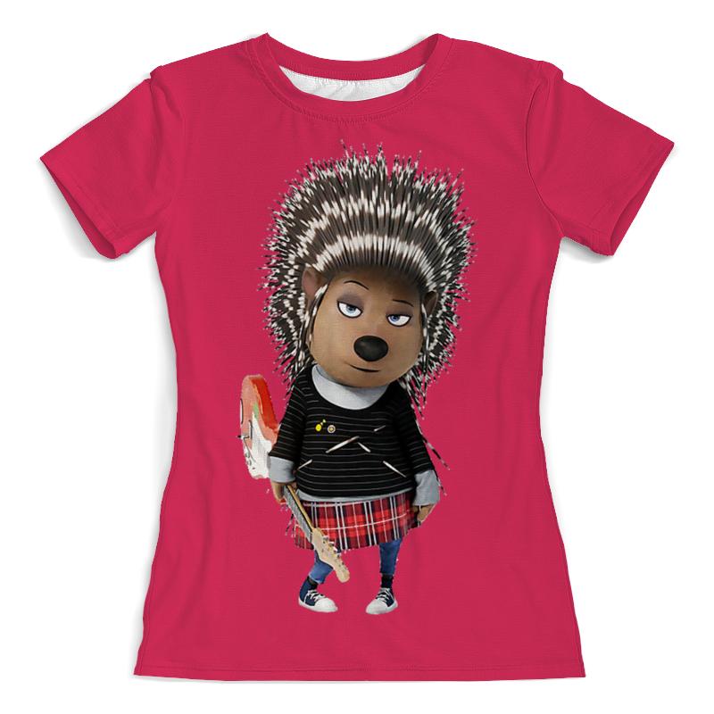Printio Дикообраз эш (1) футболка с полной запечаткой женская printio дикообраз эш 2