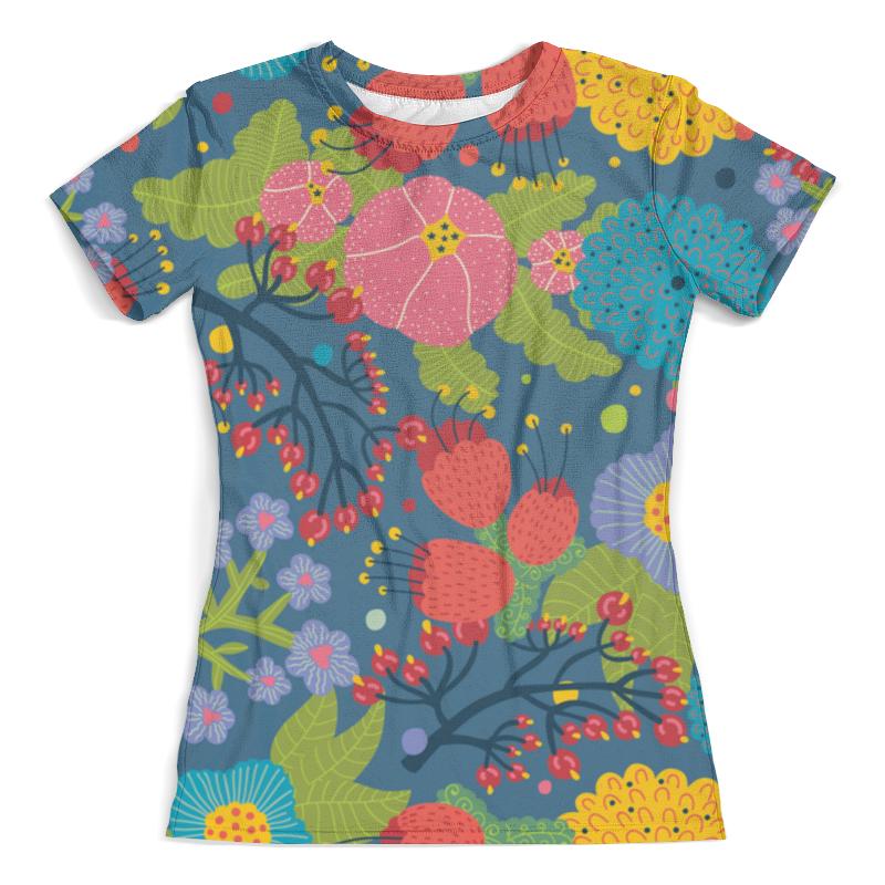 Футболка с полной запечаткой (женская) Printio Pattern футболка с полной запечаткой женская printio nano pattern
