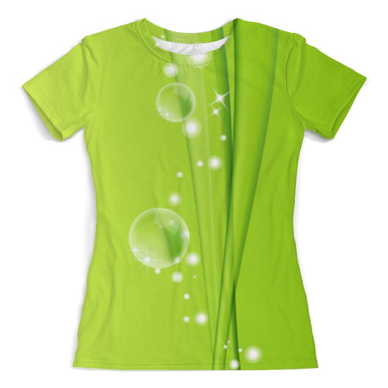 Футболка с полной запечаткой (женская) Printio Абстракция футболка с полной запечаткой женская printio битва огней кони айленд джозеф стелла