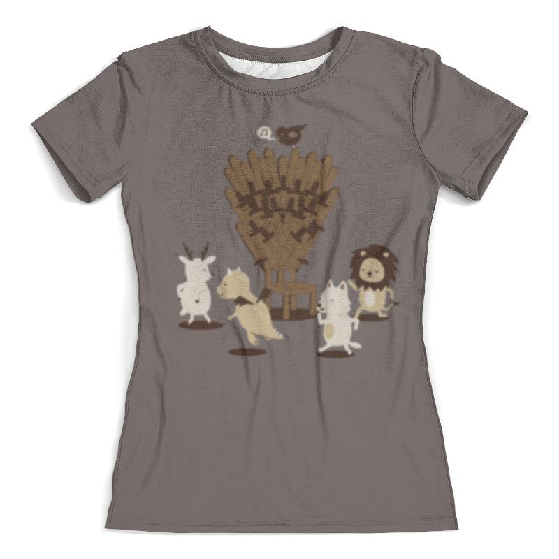 Футболка с полной запечаткой (женская) Printio Game of musical thrones футболка с полной запечаткой женская printio game of thrones дейенерис