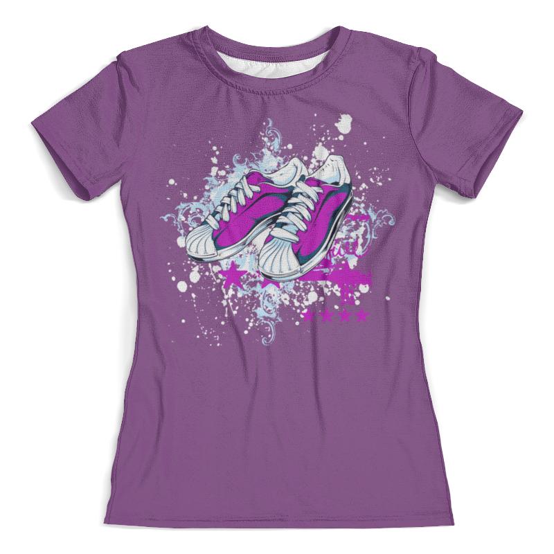Футболка с полной запечаткой (женская) Printio Спортивная обувь женская обувь